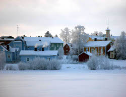 The city of Oulu is home to 130,000 Finns, including 5,000 Nokia employees