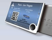 <b>TAZCARD:</b> TazTag's multi-function NFC wallet is to be secured with an Atmel security module