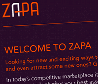 PAYMENTS: Zapa's retail marketing and loyalty system will expand to include a payments element