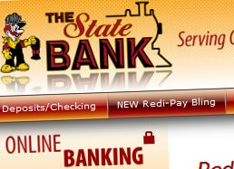 STATE BANK: Customers have enthusiastically adopted mobile payments over the last five months