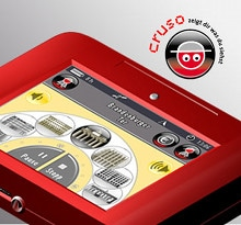 TOUR GUIDE: The handheld Cruso device features NFC and GPS functionality