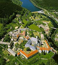 MONASTERY: Vyssi Brod, founded in 1259, is home to Cistercian monks