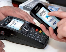 Mobile Shopping with NFC in Sitges