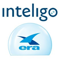 Inteligo and Era logos