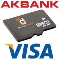 Akbank, Visa, DeviceFidelity