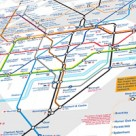 London tube map (perspective)