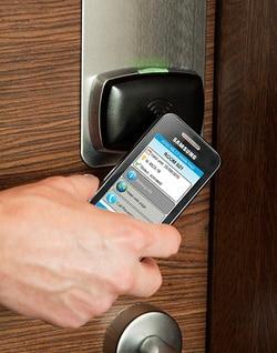 Assa Abloy's NFC hotel room key