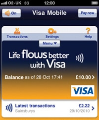 Visa Mobile for iCarte