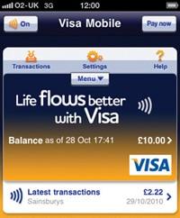 Visa Mobile for iCarte