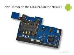 PN65N in the Nexus S • Pic: iFixit.com