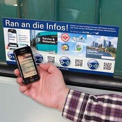 A Frankfurt U-Bahn Info-Module