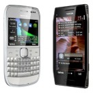 Nokia's E6 and X7 Symbian-based smartphones