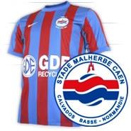 SM Caen football shirt