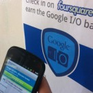 Foursquare's NFC at Google I/O