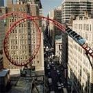 Barclaycard rollercoaster