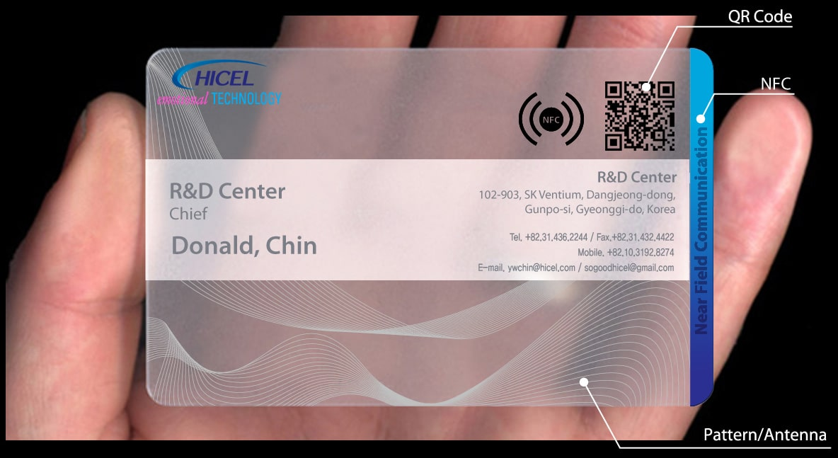 Hicel launches NFC business cards • NFC World