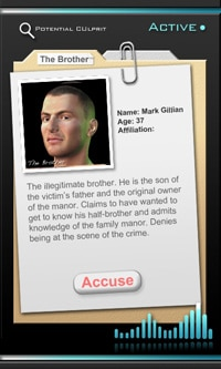 Proxama murder mystery dossier