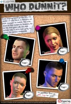 Proxama murder mystery smart poster