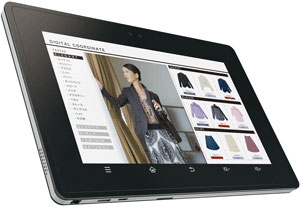 Sharp RW-T107 NFC tablet