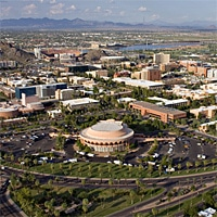 Arizona State University's Tempe campus. Photographer: Tom Story