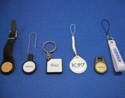 Toppan NFC tags
