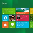Windows 8's start screen