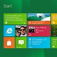 Windows 8's start screen
