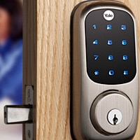 Yale's Real Life touch screen lock