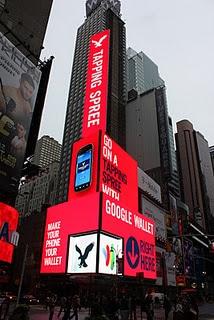 American Eagle's Google Wallet billboard
