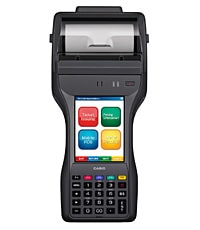 Casio IT 9000 rugged handheld terminal with printer and NFC