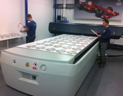 Smartboards in production at Kremer Signs