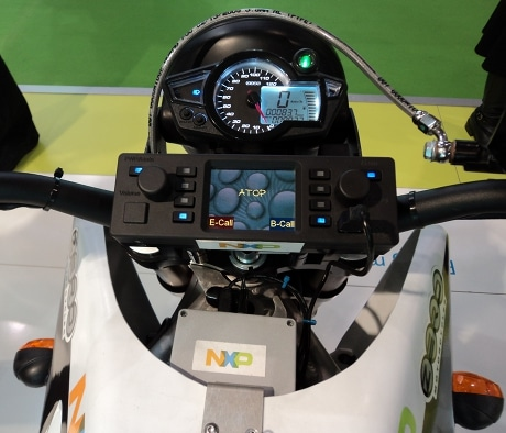 NXP's ebike with ATOP