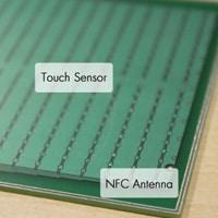 Cirque Glidepoint NFC sensor