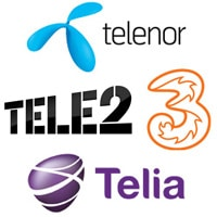 4T Sverige - Telenor, Tele2, Telia, 3