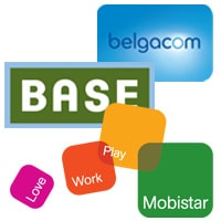 Belgacom Base and Mobistar