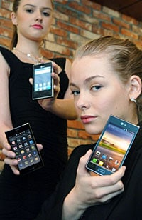 LG's Optimus L3, L5 and L7 phones