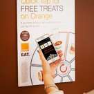 Orange Quick Tap Treats poster