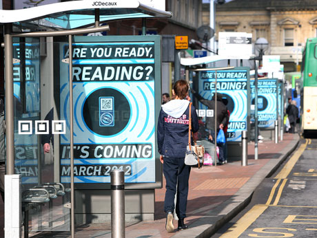 NFC ads go up all over Reading