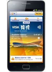 Samsung and Visa's Olympics payments app