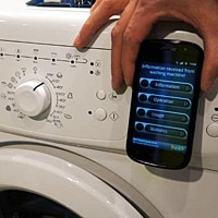 NXP's smart washing machine with NFC