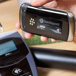 Barclaycard PayTag stickers