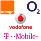 Orange, O2, Vodafone, T-Mobile