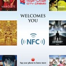 City Cinema NFC smart poster