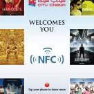 City Cinema NFC smart poster