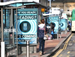 NFC posters in Reading