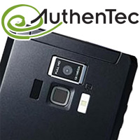 Toshiba Regza T-01D with Authentec AES850 fingerprint sensor
