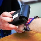 Contactless wristbands at the Isle of Wight music festival