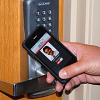 USF's NFC access control in action