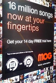 Telstra MOG smart poster