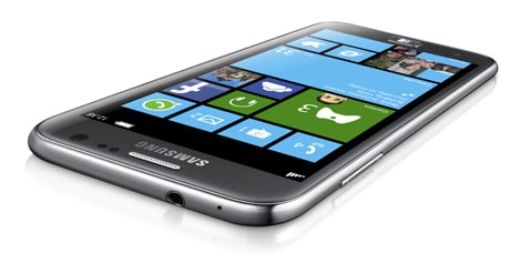 Samsung's Ativ S is a Windows Phone 8 handset with NFC